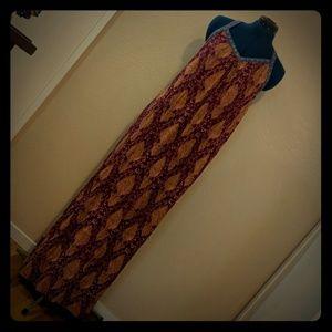 Xhilaration maxi shift dress